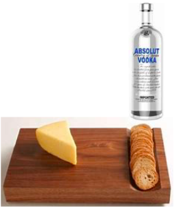 Cheese vodka